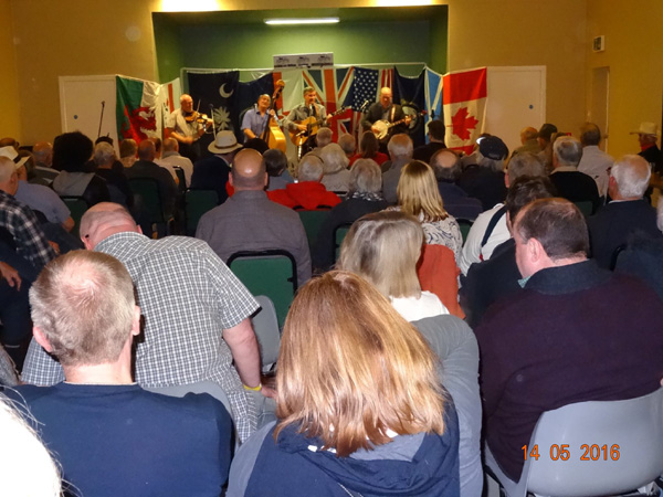 Down County Boys play to a packed hall. May 2016