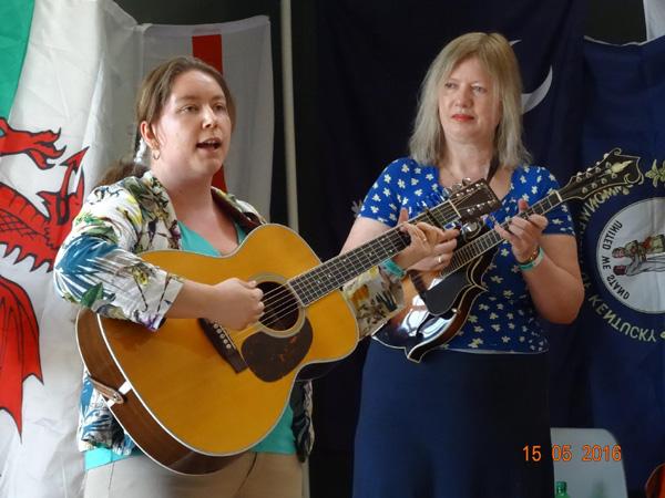 Katka and Ingerborge. May 2016